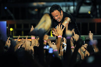 Bruce Springsteen Photograph - The Boss 5 by Rafa Rivas