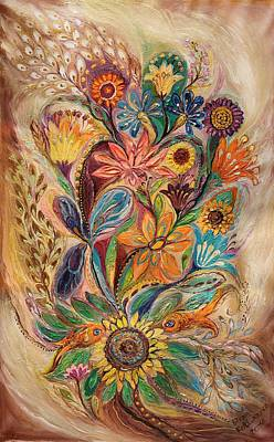 Wholesale Painting - The Bouquet Of Life by Elena Kotliarker