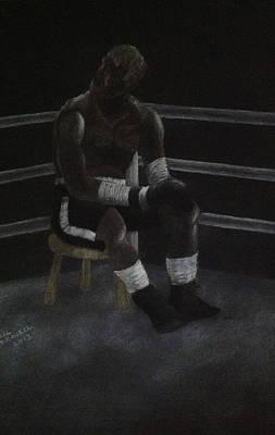 The Boxer 2013 Print by Carl Frankel