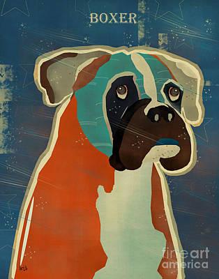 The Boxer Print by Bri B