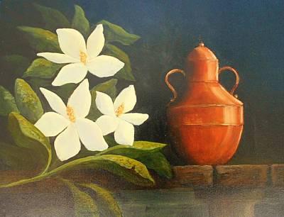 The Brass Jar   # 059 Original by Frederick  Skidmore