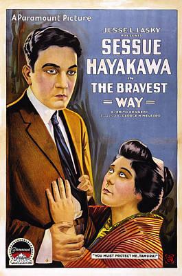 The Bravest Way, Us Poster Art, Sessue Print by Everett