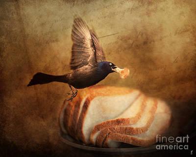 The Bread Thief Print by Jai Johnson