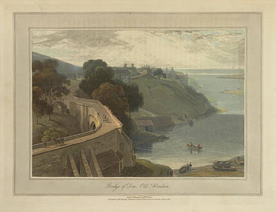 Landscape Of The Year Photograph - The Bridge Of Don At Old Aberdeen by British Library