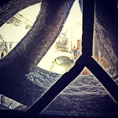Dungeon Photograph - The Bridge Of Sighs...the Last View Of by Emily Hames