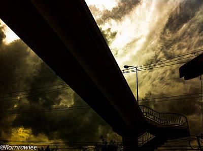 Photograph - The Bridge To Heaven... by Kornrawiee Miu Miu