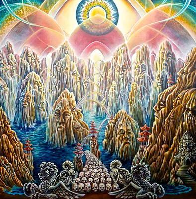 The Bridge To Nirvana Original by Morgan  Mandala Manley
