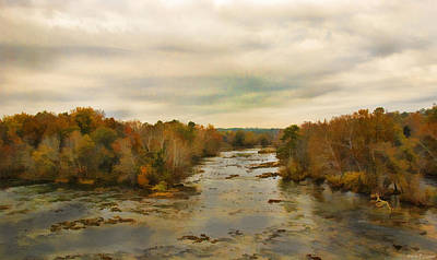 The Broad River Print by Steven Richardson