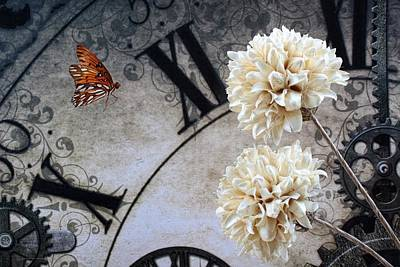Ending Life Photograph - The Butterfly Effect by Chrystyne Novack