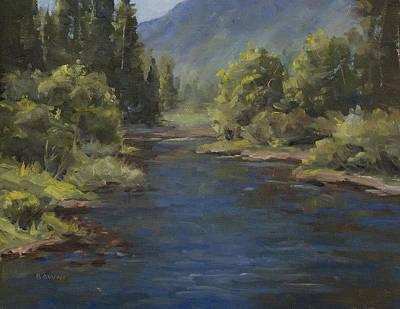 The Cache La Poudre River Print by Bonnie Bowne