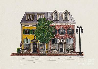 The Cafe Mantic Print by Michelle Welles