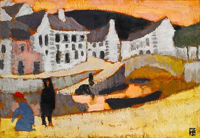 The Canal Print by Roger de La Fresnaye