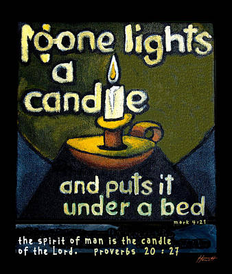 The Candle Print by Patricia Howitt