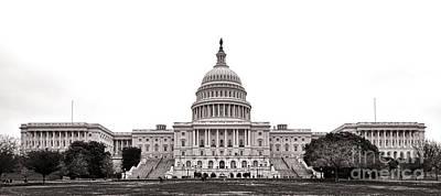 Senate Photograph - The Capitol by Olivier Le Queinec