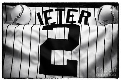 Ny Yankees Photograph - The Captain by John Rizzuto