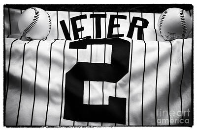 Derek Jeter Photograph - The Captain by John Rizzuto
