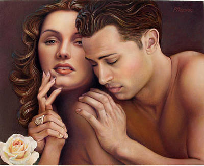 Embrace Pastel - The Caress by Patrick Anthony Pierson