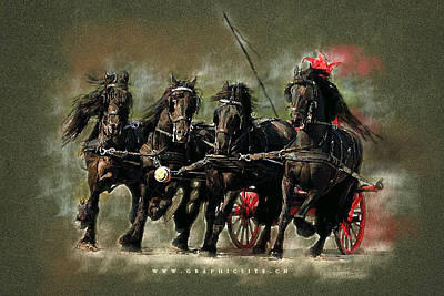 The Carriage Original by Graphicsite Luzern