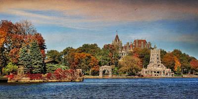 Beautiful Scenery Digital Art - The Castle Of Love by Lori Deiter
