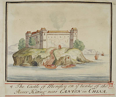The Castle Of Mongley Print by British Library