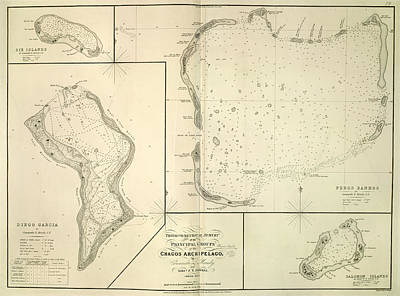 The Chagos Archipelago Print by British Library