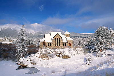 Estes Park Photograph - The Chapel On The Rock 3 by Eric Glaser