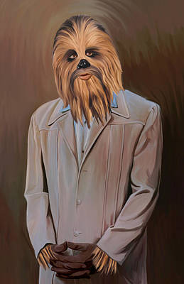 Chewbacca Painting - The Chewy by Joseph McNew