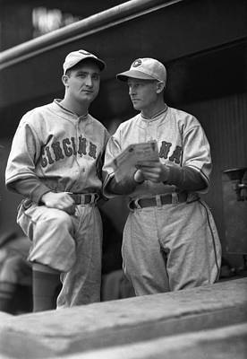 Baseball Uniform Photograph - Cincinnati Reds by Retro Images Archive