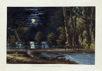 Relating Painting - The Chickahominy- Sumner's Upper Bridge by Celestial Images