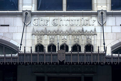 The Chronicle Print by Daniel Hagerman