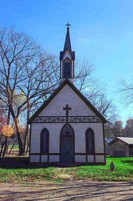 The Church At Billie Creek Print by Thomas Sellberg