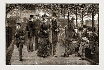 The Churchyard, St Print by Litz Collection