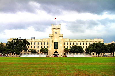 Barracks Photograph - The Citadel by David Kennedy