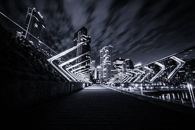 Doppelganger Photograph - The City by Alex Land