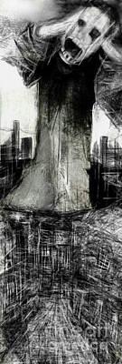 Digital Art - The City Beneath The City  by Ruth Clotworthy