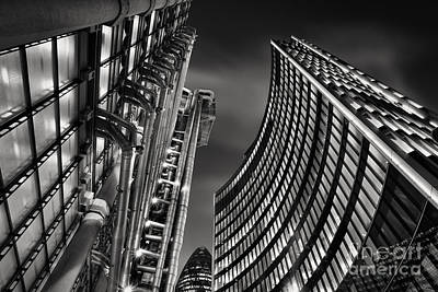 Gherkin Photograph - The City by Rod McLean