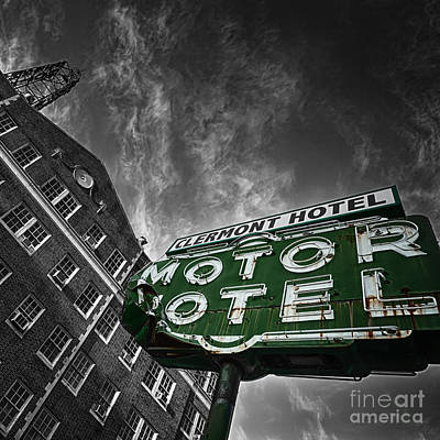 Claremont Photograph - The Clermont Hotel by Doug Sturgess