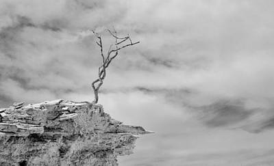 Abstarct Photograph - The Cliff by Maria Blosser