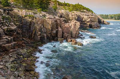 Maine Park Photograph - The Cliffs by Kristopher Schoenleber
