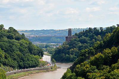 Bristol Photograph - The Clifton Suspension Bridge by Bishopston Fine Art