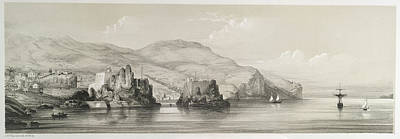 The Coast Of Madeira Print by British Library