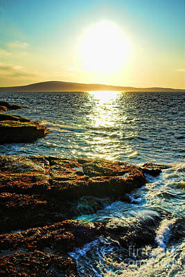 The Coast Of Maine Print by Olivier Le Queinec