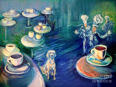 The Coffee Chefs  Print by Frederick  Luff