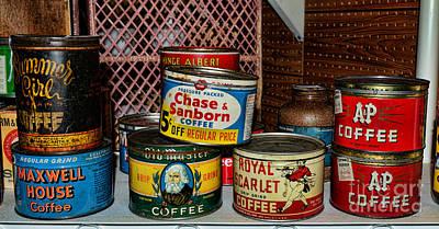 The Coffee Drinker Print by Paul Ward