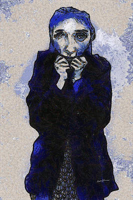 Ghost Digital Art - The Cold Other Side by Anthony Caruso