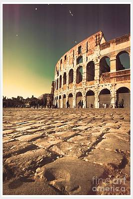 The Coliseum In Rome Original by Stefano Senise