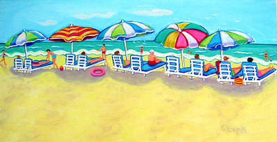 The Color Of Summer  Print by Rebecca Korpita