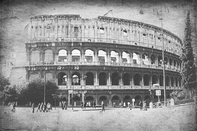 Steven Taylor Photograph - The Colosseum  by Steven  Taylor