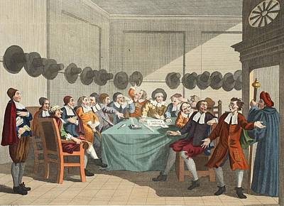 Scottish Drawing - The Committee, From Hudibras By Samuel by William Hogarth