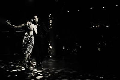 Dance Floor Photograph - The Compas Of The Heart by Jenny Rainbow